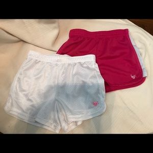 Justice Girls size 12 mesh athletic shorts